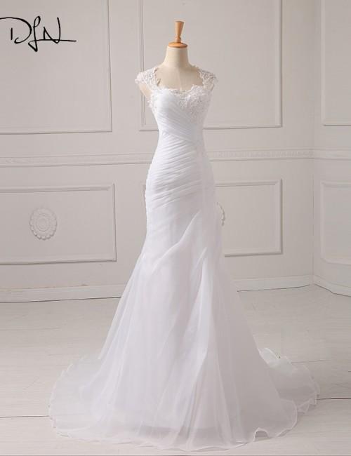 ADLN-In-Stock-Wedding-Dress-2017-Applique-Beading-Bodice-Organza-White-Ivory-Vestido-De-Noiva-Wedding